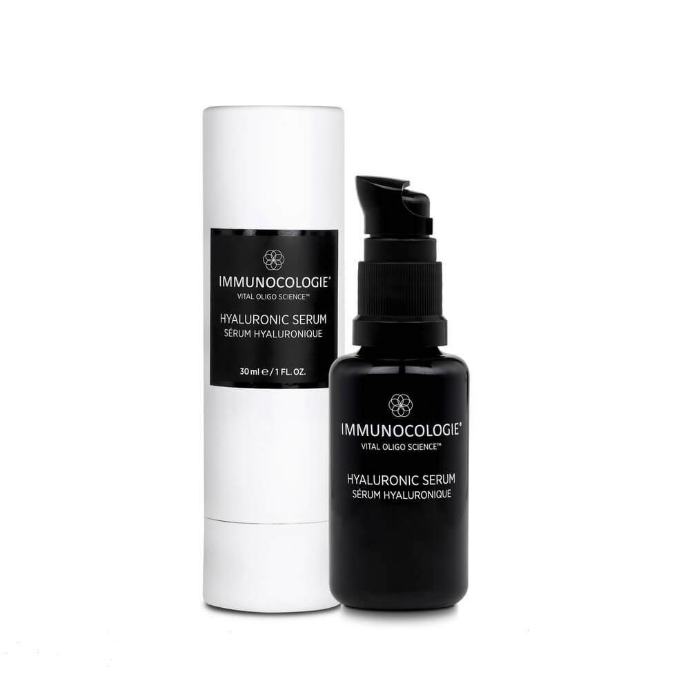 Immunocologie Hyaluronic Serum + GIFT: Black Cotton Face Mask + Cleanser Deluxe Sample