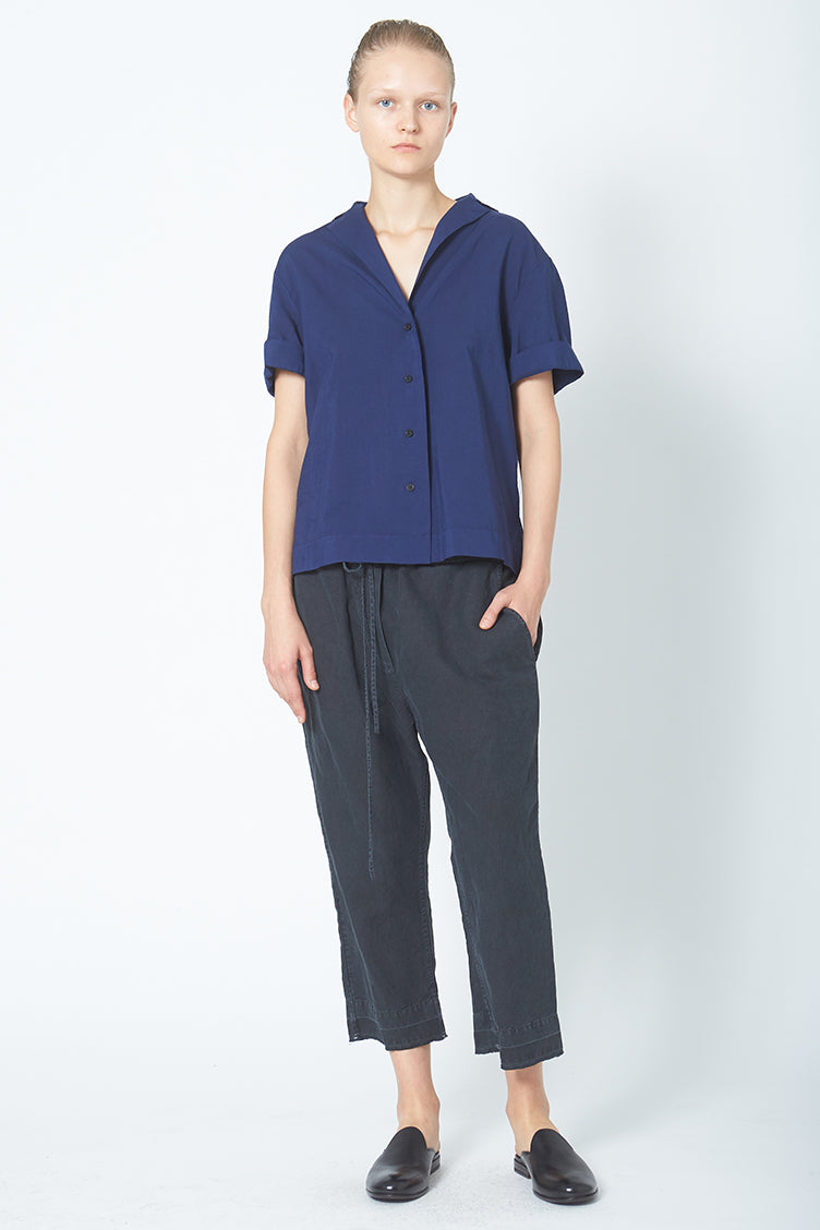 Luis Relaxed Blouse - Cotton