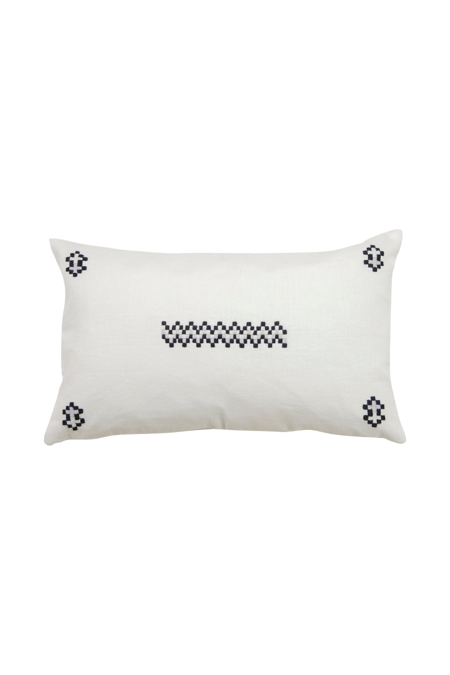 Aid to Artisans Cruz Pillow - Black
