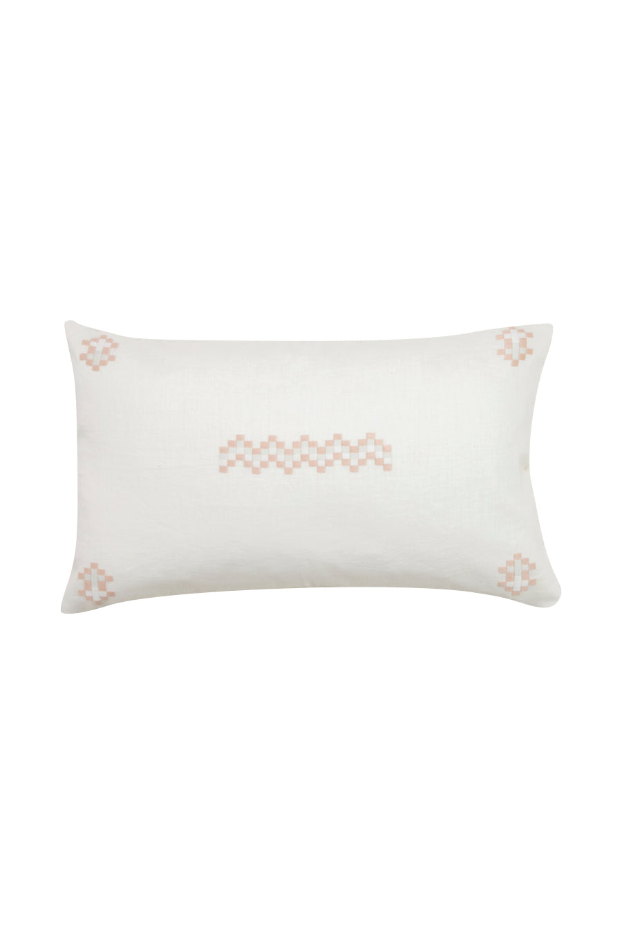 Aid to Artisan Cruz Pillow - Pearl