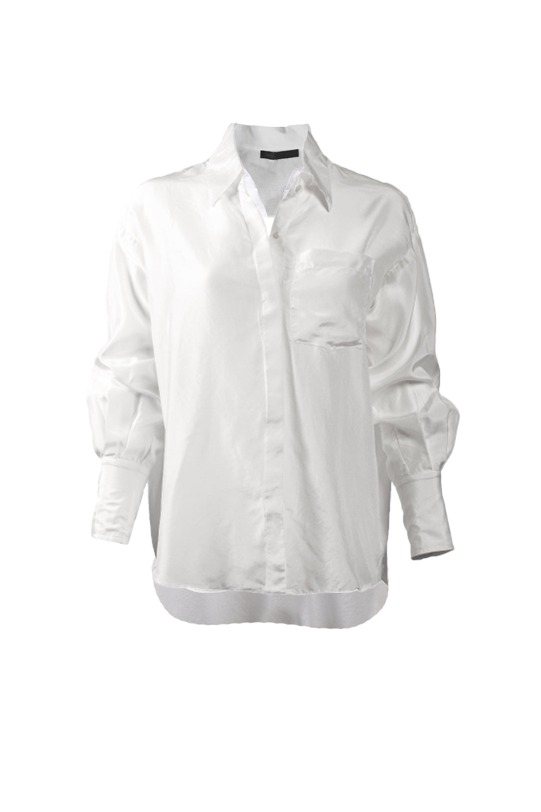KES Oversized Men Button Down - Silk
