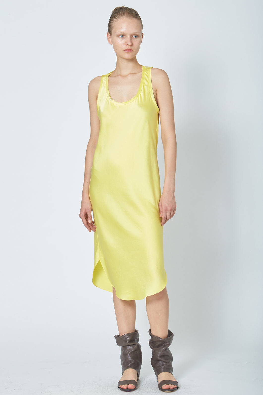 KES Silk Tank Dress SS19