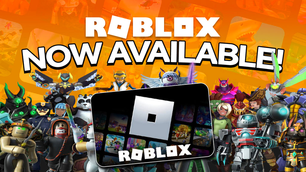 Roblox Gift Cards: Now Available on the shop!