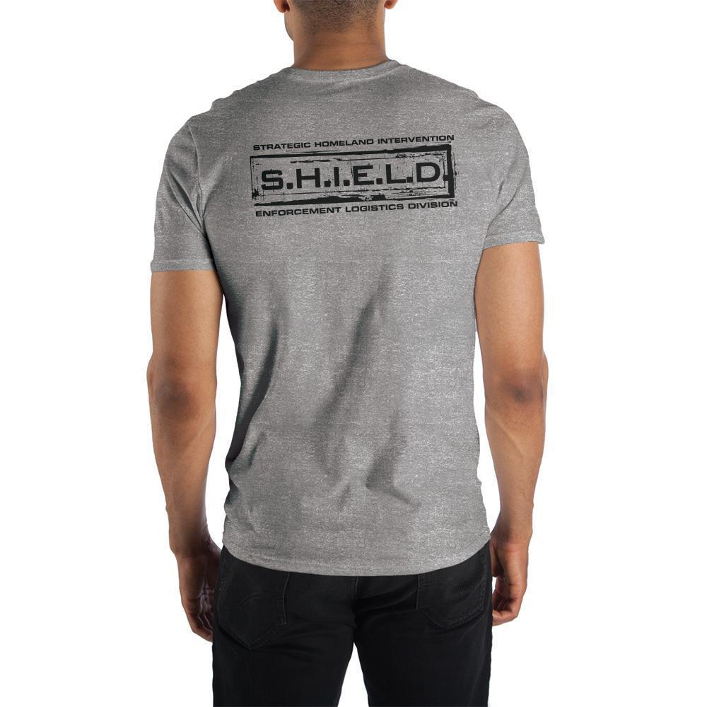 Marvel S.H.I.E.L.D. Grey T-Shirt