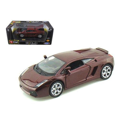Lamborghini Gallardo Burgundy 1/24 Diecast Car Model by Bburago