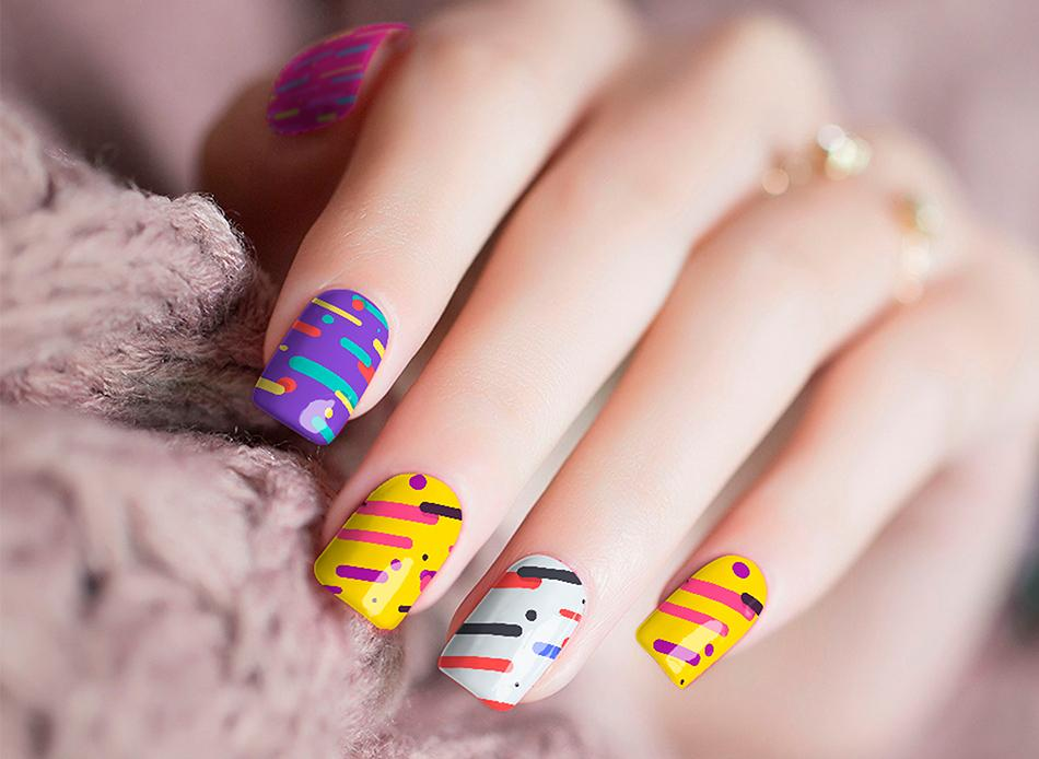 Candy Up Nail Stickers