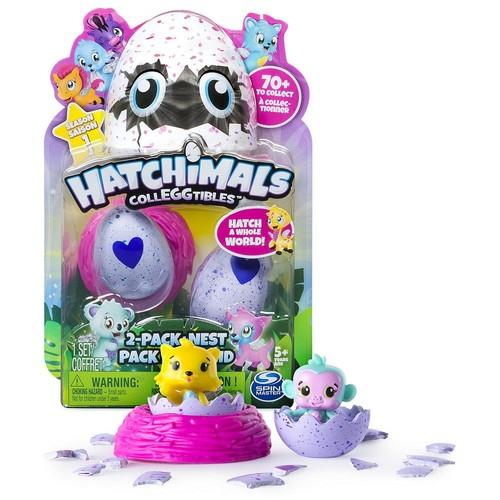 Hatchimals CollEGGtibles 2-Pack and Nest [Season 1]