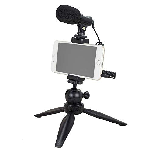 YouTube Starter Kit: Tubace Smartphone Video Microphone with Mini Tripod