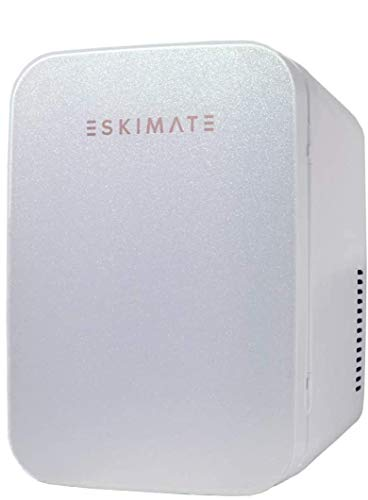 ESKIMATE 6 Liter Compact Portable Mini Fridge- Classic White