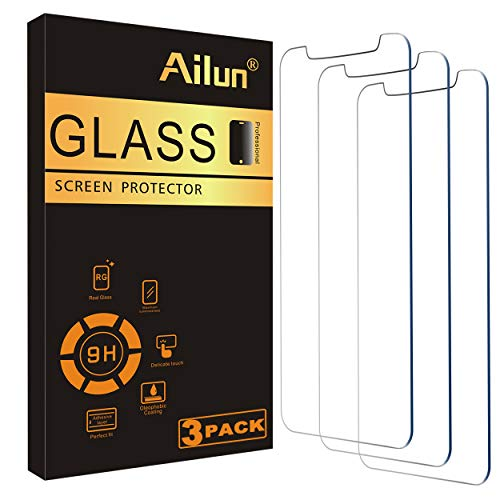 Ailun Glass Screen Protector Compatible for iPhone 12/iPhone 12 Pro 2020 6.1 Inch 3 Pack Case Friendly Tempered Glass