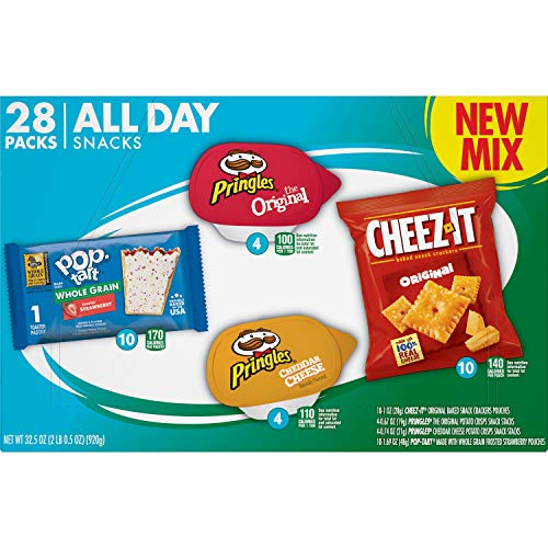 Kellogg's All Day Snacks, Variety Pack (28 Count)