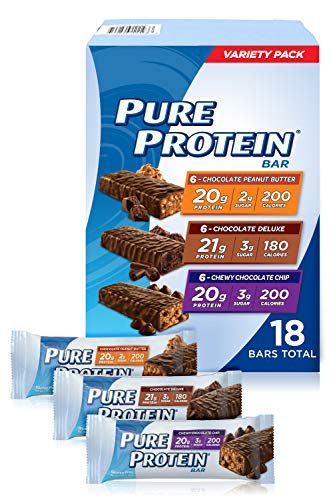 Pure Protein Bars, Variety Pack (18 Pack)