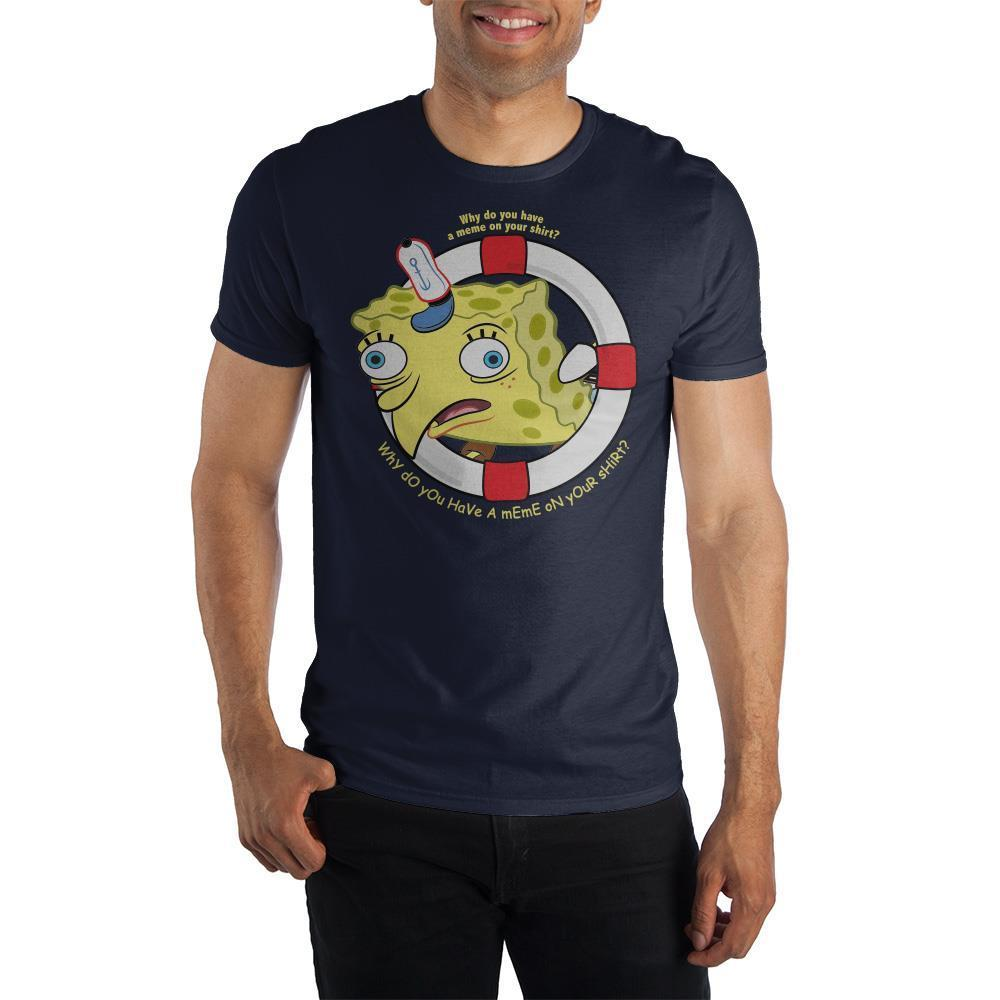 "SpongeBob SquarePants ""Warped"" Short-Sleeve T-Shirt"