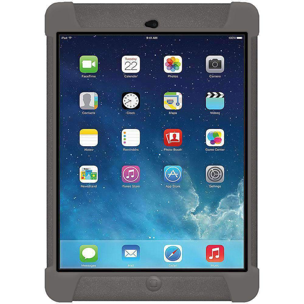 AMZER Shockproof Silicone Case for iPad Air - Grey