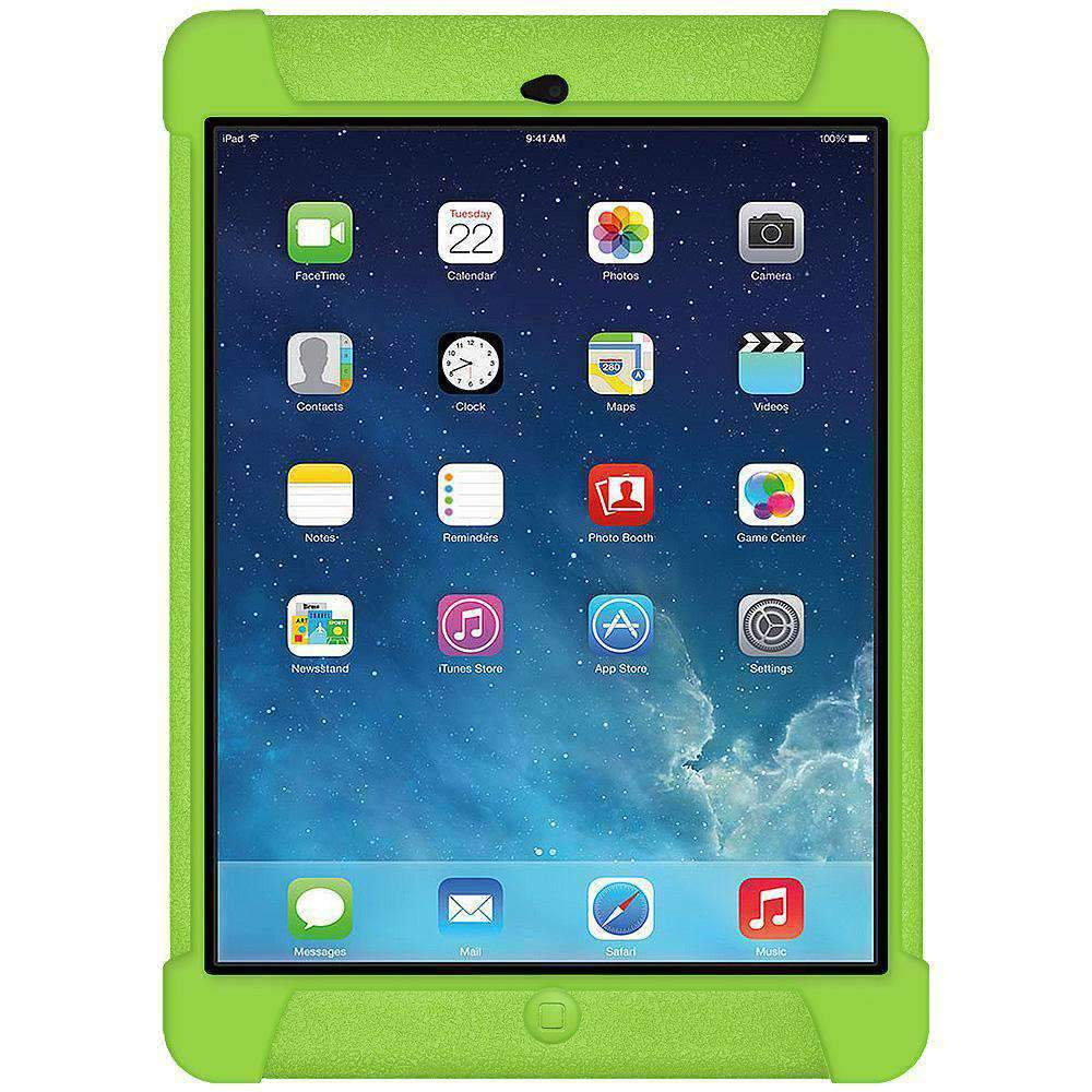 AMZER Shockproof Silicone Case for iPad Air - Green