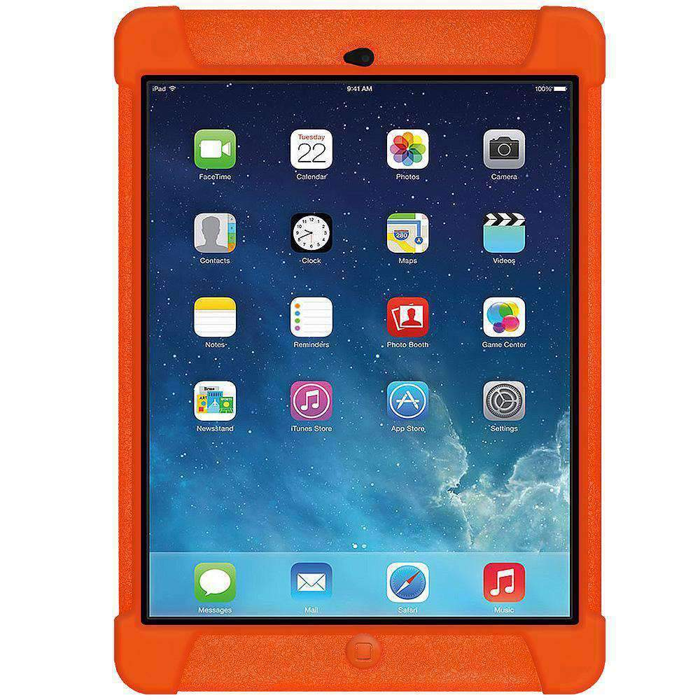 AMZER Shockproof Silicon Case for iPad Air - Orange