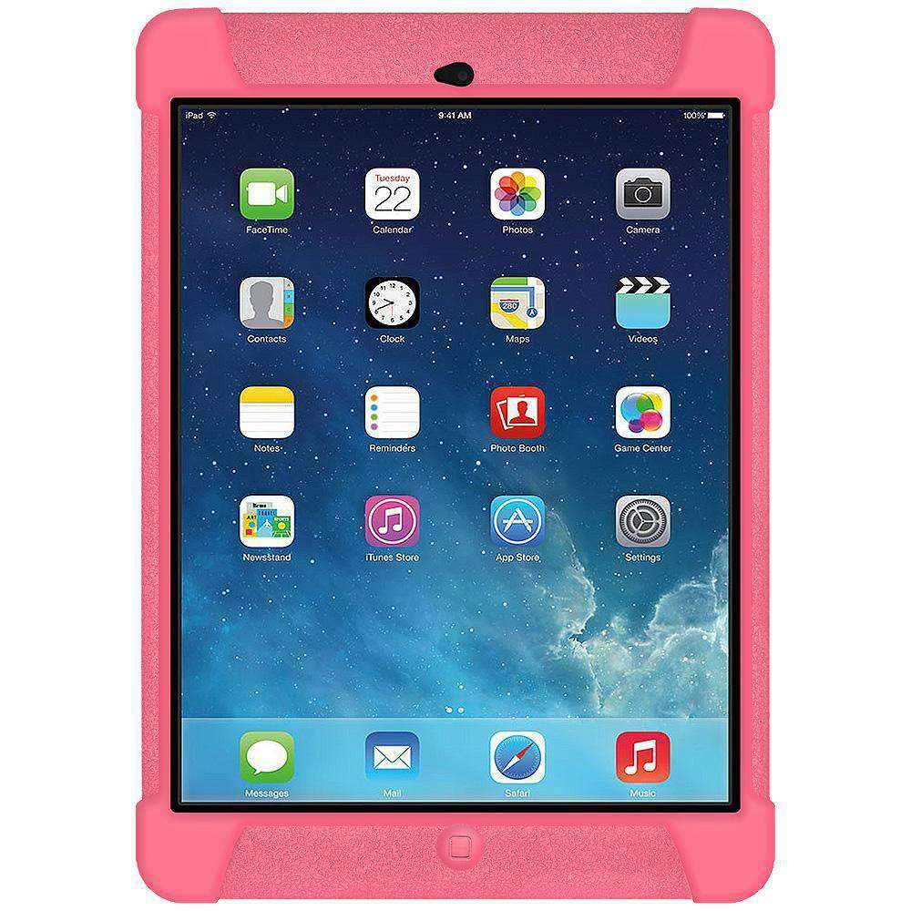 AMZER Shockproof Silicone Case for iPad Air - Baby Pink