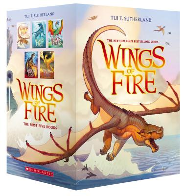 Wings of Fire Boxset, Books 1-5