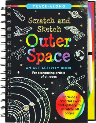 Scratch & Sketch Outer Space Activity Book