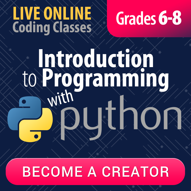 Introduction to Programming with Python: Grades 6-8