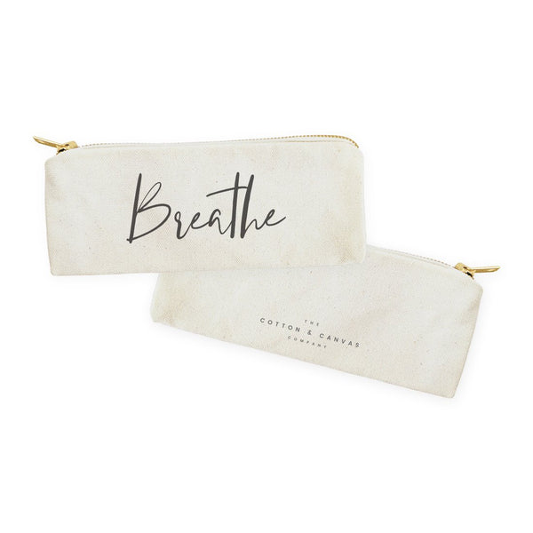 Breathe Cotton Canvas Pouch