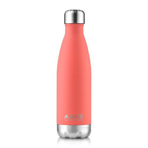 Insulated Stainless Steel Water Bottle 17oz - Coral