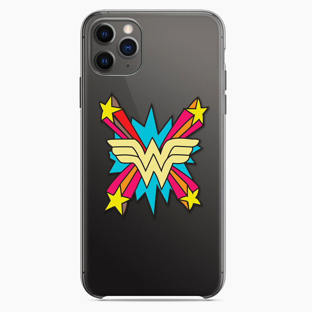 Wonder Woman Clear Phone Case