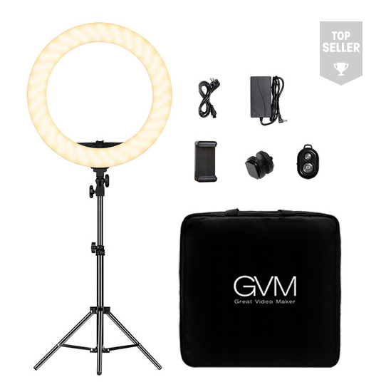 Bi-Color LED Ring Light
