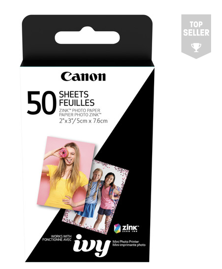"Canon 2 x 3"" ZINK Photo Paper Pack"