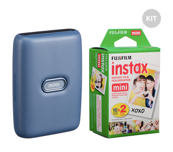 FUJIFILM INSTAX Mini Link Smartphone Printer with Instant Film (20 Color Exposures)