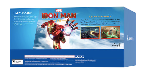 Sony PlayStation VR Marvel's Iron Man VR Bundle