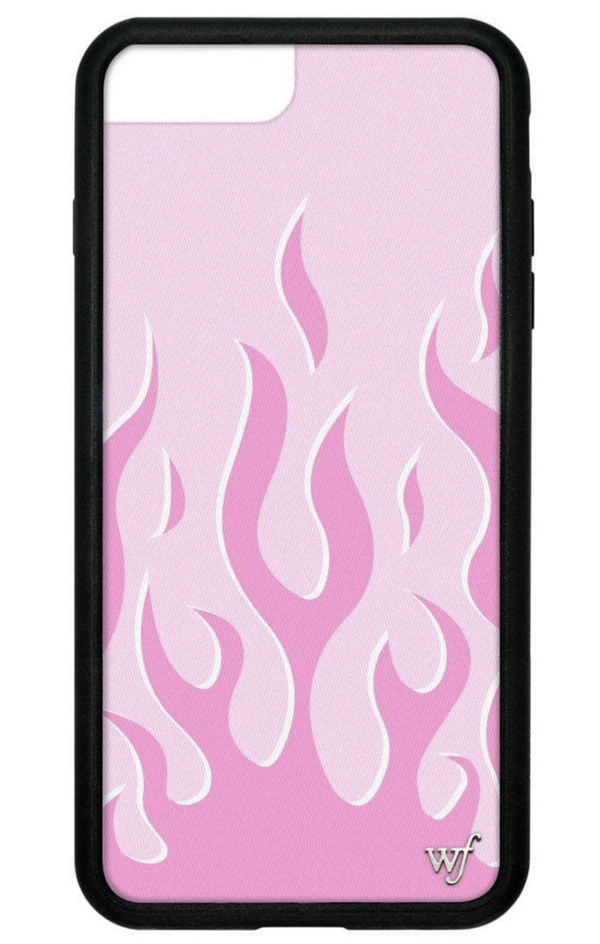 Pink Flames iPhone Case