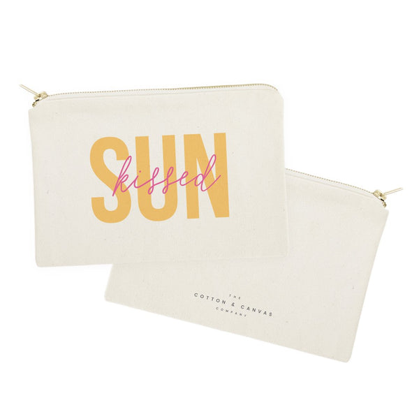 Sunkissed Cotton Canvas Cosmetic Bag