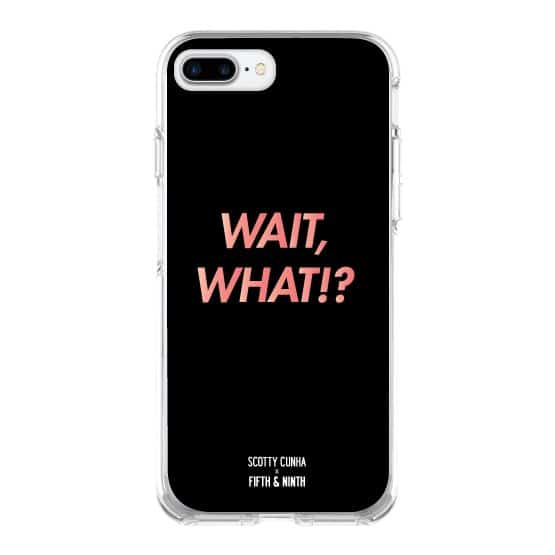 Wait, What?! iPhone Case