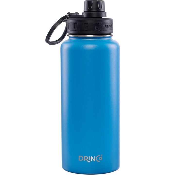 DRINCO® 32oz Stainless Steel Water Bottle - Royal Blue