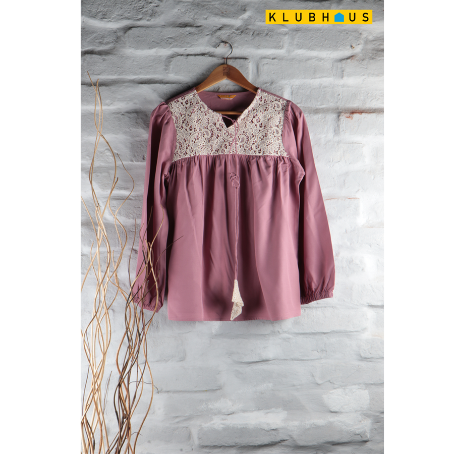 Maternity Western Top
