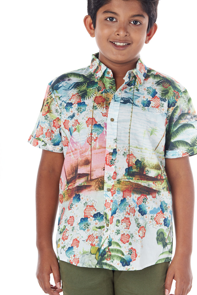 Boy's Casual Shirt