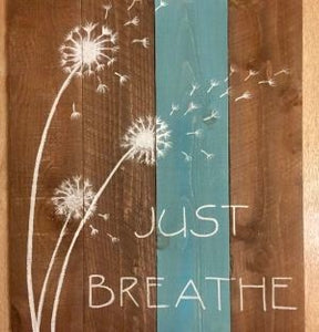 Just Breathe - Kit/Tutorial PICK UP ONLY
