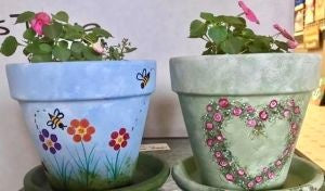 Clay Pot designs - Kit/Tutorial PICK UP ONLY