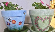 Clay Pot designs - Tutorial Only