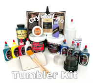 CrystaLac Tumbler Kit (Epoxy Free) with BONUS Tumbler Zoom Class Bundle