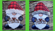 Christmas/Winter Gnome Door Hanger or Yard Sign - Nov. 21, 11am-1:30pm
