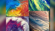 Paint Pour Night!   July 8th, 6:30pm-8:30pm