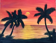 Tropical Sunset - Kit/Tutorial DELIVERY ONLY