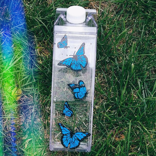 Elixir Water Bottle - Butterfly Addition
