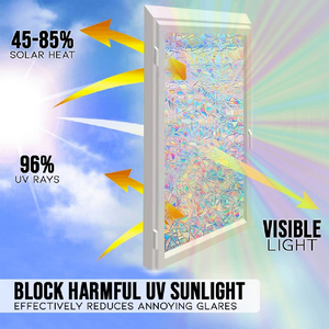 Psychedelic Window Film