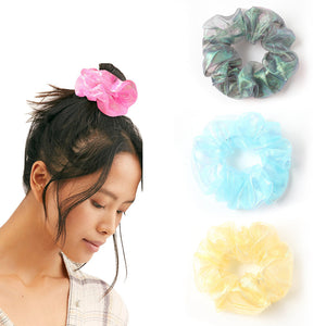 Retro Hair Scrunchie