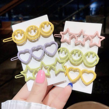 Happy Hair Clips