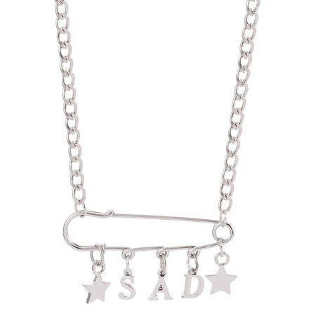 Sad Girl Necklace