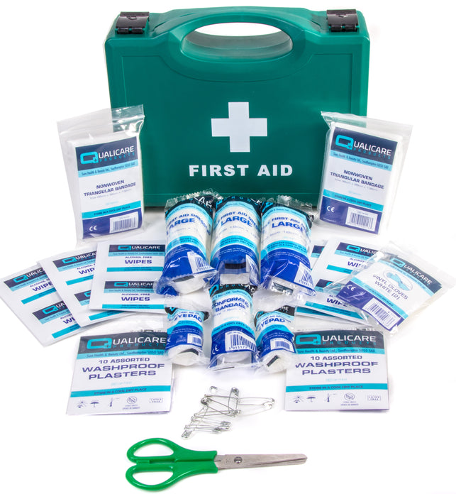 Psv First Aid Kit Hard Case Qualicare